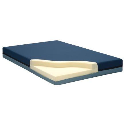 Intézeti MEMOMED (10+4cm) felfekvés elleni gondozó matrac incontinentia huzatban 130 kg-ig